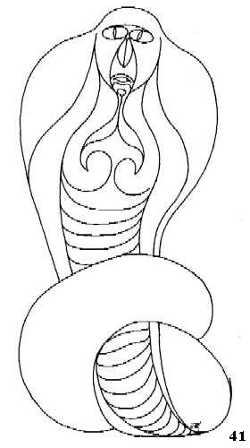 tekening serpent